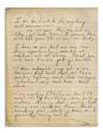 Hunter S. Thompson Autograph Letter Signed The Jew -- ...am working fitfully on Great PR novel - The Rum Diary...Playboy bounced B.S. & it is now circulating for the booby prize...